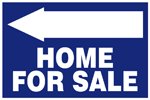 Blue Home For Sale